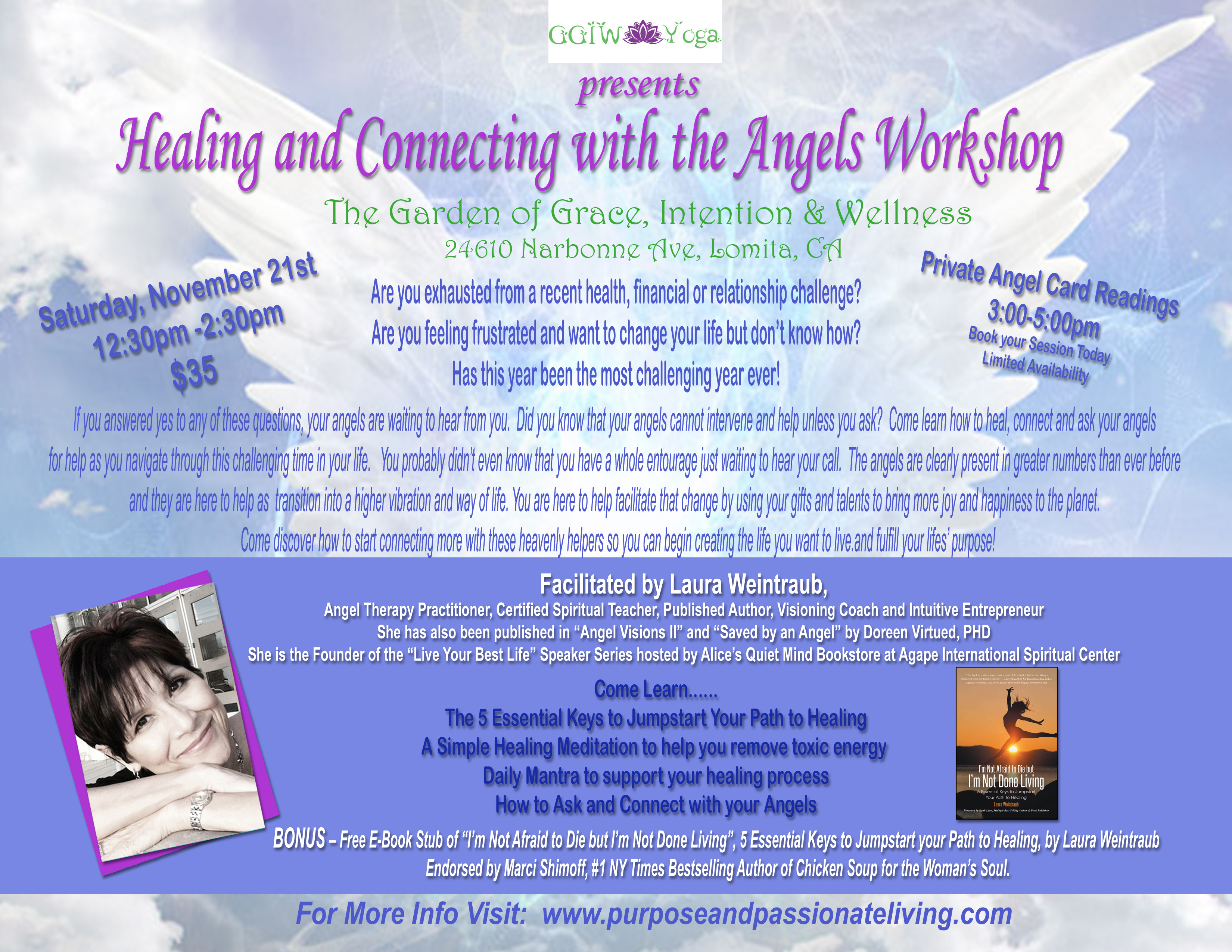 Come join me at the garden of grace wellness and intention for a angel workshop at ggiw fandeluxe Epub